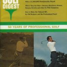 GOLF DIGEST 50 YEARS OF PROFESSIONAL GOLF 1966 AUG