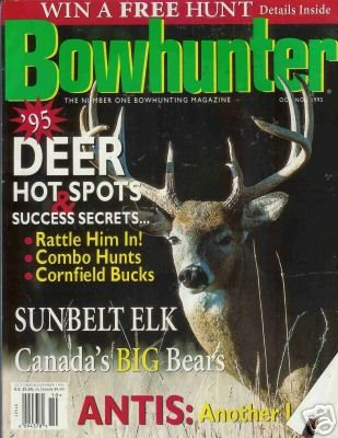 BOWHUNTER the numer one bowhunting magazine 1995