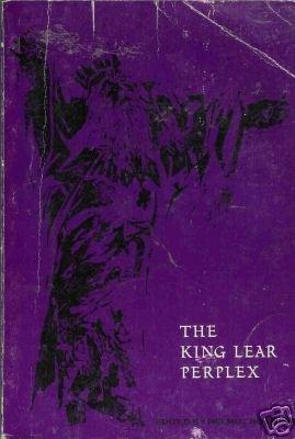 THE KING LEAR PERPLEX By Helmut Bonheim