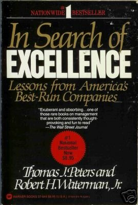 IN SEARCH OF EXCELLENCE lessons from america's best-run