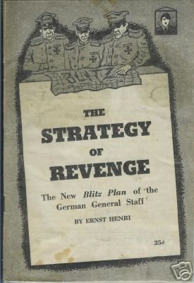 THE STRATEGY OF REVENGE NEW BLITZ PLAN 1961 HENRI