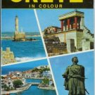 CRETE in colour George Sakkas 1977 Tourist Guide Book