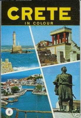 CRETE in colour George Sakkas 1977 Tourist Guide Book