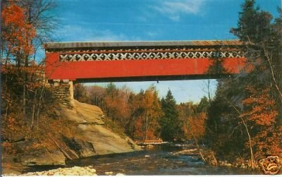 OLD COVERED CHISELVILLE BRIDGE (East Arlington, Vt.) RP