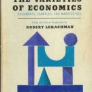 THE VARIETIES OF ECONOMICS, documents,  Lekachman