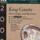 THE THOMAS GUIDE 85TH YEAR KING COUNTY STREET GUIDE & D