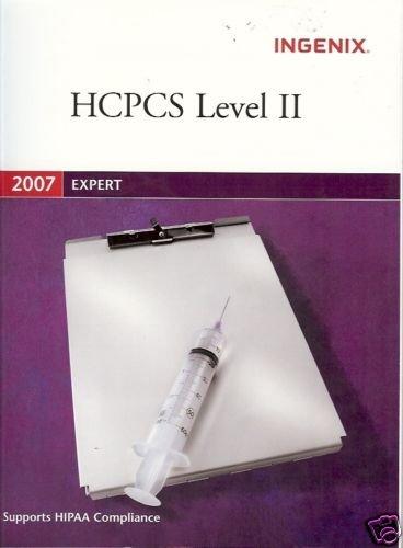 HCPCS LEVEL II INGENIX 2007 EXPERT