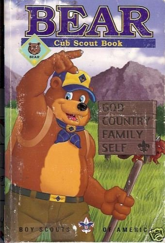 BEAR CUB SCOUT BOOK  By Boy Scouts of America 1998