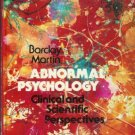 ABNORMAL PSYCHOLOGY Barclay Martin