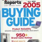 CONSUMER REPORTS BUYING GUIDE 2005