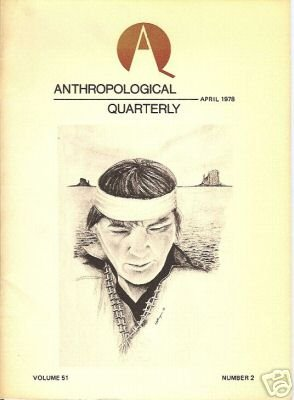 ANTHROPOLOGICAL QUARTERLY APR 1978 PERU COLORADO 51 2