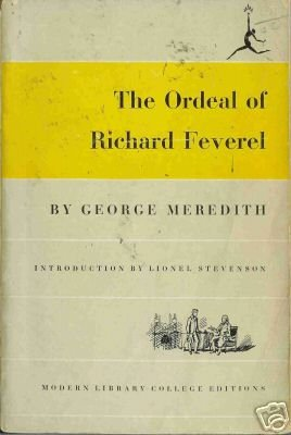 THE ORDEAL OF RICHARD FEVEREL By George Meredith
