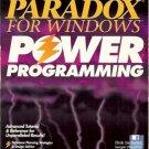 PARADOX FOR WINDOWS POWER PROGRAMMING 1993