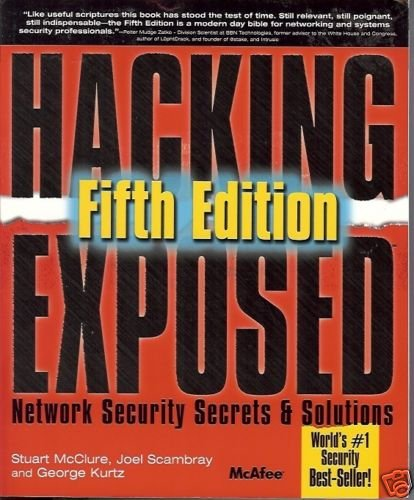 HACKING EXPOSED NETWORKING SECURITY SECRETS & SOLUTIONS