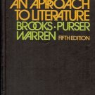 AN APPROACH TO LITERATURE 5 edition