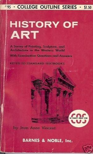 HISTORY OF ART SURVEY PAINTING, SCULTUR ARCHITECTURE
