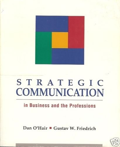 STRATEGIC COMMUNICATION BUSINESS AND PROFESSIONS