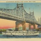 QUEENSBORO BRIDGE EAST RIVER NEW YORK