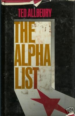 The Alpha List by Ted Allbeury (1979)