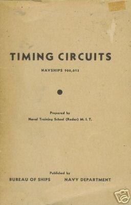 TIMING CIRCUITS Bureau of ships Navy Department 1951
