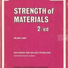 THEORY AND PROBLEMS OF STRENGTH OF MATERIALS 2/ed