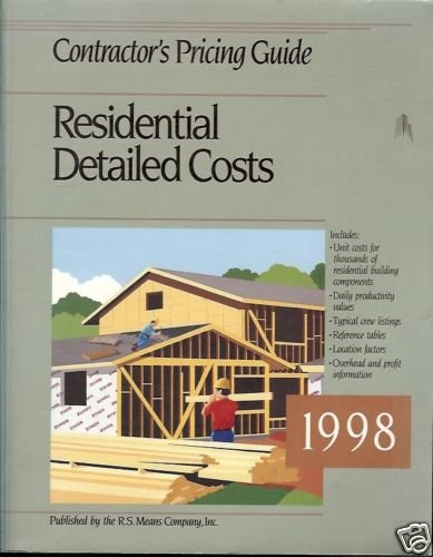 CONTRACTOR'S PRICING GUIDE RESIDENTIAL DETAILED COSTS