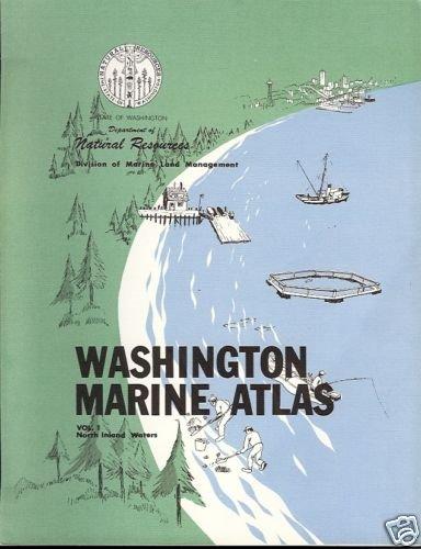 WASHINGTON MARINE ATLAS VOL 1 NORTH INLAND WATERS