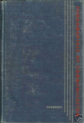 FUNDAMENTALS OF COMMUNICATION By Wayne Thompson 1957