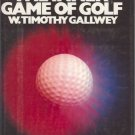 THE INNER GAME OF GOLF By W. T. Gallwey