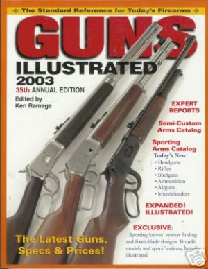 GUNS illustrated 2003 35th annual edition By Ken Ramage