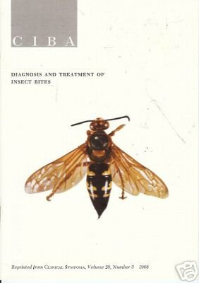 DIAGNOSIS AND TREATMENT OF INSECT BITES CIBA 1968