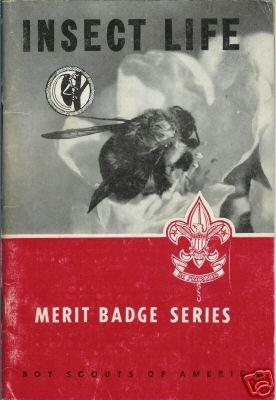 INSECT LIFE Merit Badge Series 1961 BSA
