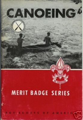 CANOEING 1965 Merit Badge Series BSA