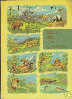 INSECTS INDEX Volume 16 of the new illustrated animal k