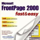 MICROSOFT FRONTPAGE 2000 FAST&EASY