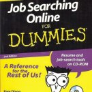 JOB SEARCHING ON LINE FOR DUMMIES 2ND  EDITION