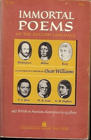IMMORTAL POEMS OF THE ENGLISH LANGUAGE 1952