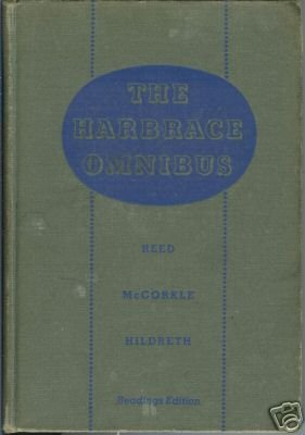 THE HARBRACE OMNIBUS By Reed Mccorkle Hildreth