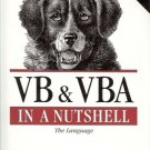 VB & VBA IN A NUTSHELL THE LANGUAGE