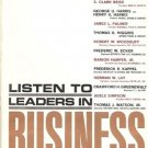 LISTEN TO LEADERS IN BUSINESS ALBERT LOVE & SAXON CHILD