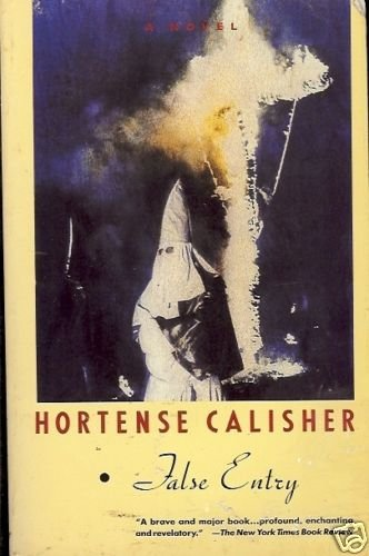 FALSE ENTRY BY HORTENSE CALISHER NOVEL