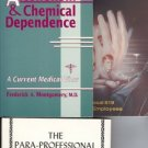 3 BOOK LOT ALCOHOLISM CHEMICAL DEPENDENCE SUBSTANCE ABU