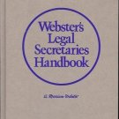 WEBSTER'S LEGAL SECRETARIES HANDBOOK A MERRIAN WEBSTER