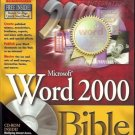 WORD 2000 BIBLE MICROSOFT HESLOP & ANGELL