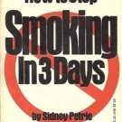 HOW TO STOP SMOKING IN 3 DAYS