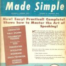 THE ART OF SPEAKING MADE SIMPLE 1954