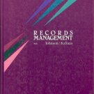 RECORDS MANAGEMENT By Johnson &  Kallaus
