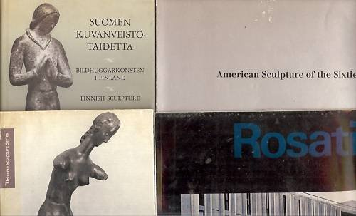 AMERICAN SCULPTURE OF THE SIXTIES LOT OF 4 BOOKS