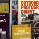 PHOTOGRAPHY BOOKS LOTS OF 6 BOOKS