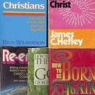 HOW GREAT CHRISTIANS MET CHRIST A LOT OF 5 BOOKS